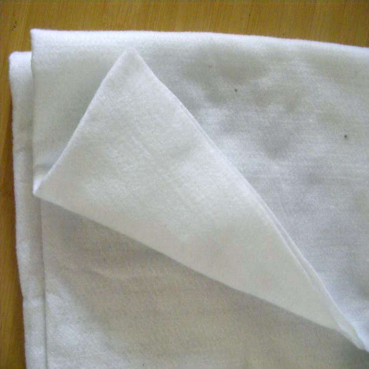 Needle punched water permeable nonwoven geotextile felt fabric cheap price