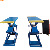 3Ton Manual Release super thin Scissor Car Lift with CE