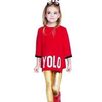 Ms61515c China Supplier Sweater Kids Letter Pattern Girls Model Wool