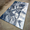 Grey cloud marble tile for outdoor floor/wall