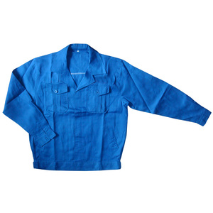 Blue collar uniform men's engineering uniform workwear jacket