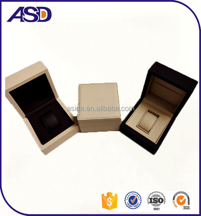 High Quality custom logo leather watch packaging/watch gift boxes