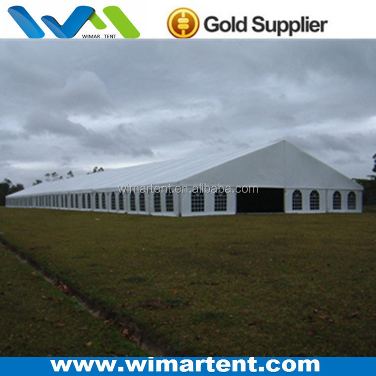 Eco Functional Large 20x100m 1600 People Farm Marquee Tent for Events