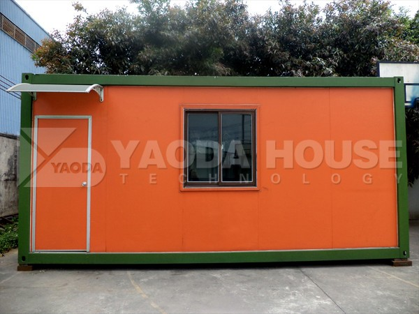 Pre Fabricated Container House Built In Congo Small Prefab