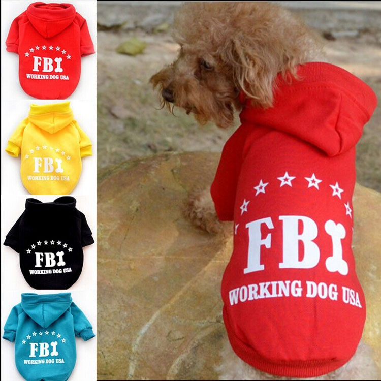 2015 New Hot FBI Dog Clothes Pet Products Trade Assurance