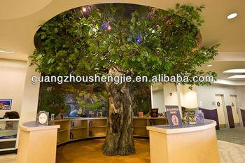 Fake Oak Tree