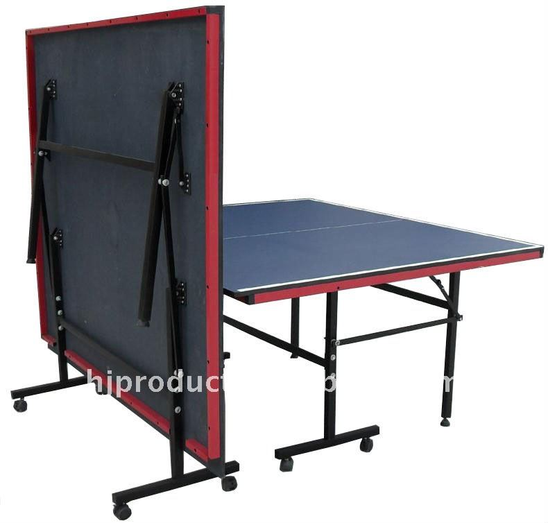 Cheap Double Folding Up Wheels Table Tennis Table,Cheap Beer Pong Game Table ,Table Game   Buy Table Tennis Table,Pingpong Table,Folding Table Product  On ...