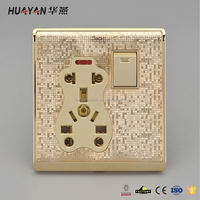 Top selling super quality 5 gang light switch from China