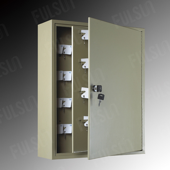 Commonly Used In Hotels 320 Key Hooks Wall Mounted Metal Safe Box Cabinet Lock