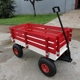 Durable outdoor wooden children garden tool cart