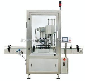 2017 popular automatic glass jar bottle capping machine 2017 popular