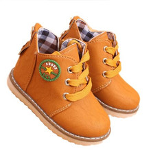 New Arrival 2016 Fashion Children shoes Martin boots Spring Autumn Boys Girls shoes Kids Ankle boots