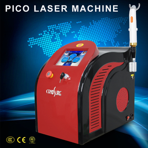 Portable picosure laser 1064 nm 755nm 532nm q switched nd yag laser for tattoo freckle pigmentation removal machine