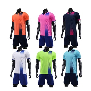 best sneakers ce1dd 9e97e wholesale 2019 cheap high quality custom plain football kits soccer  training jersey