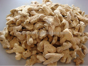 Dehydrated whole dried dry ginger pieces