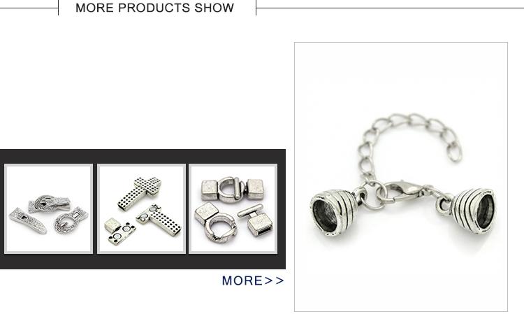 Professionale made minimalista bowknot accessori dei monili che fanno magnete dei monili del catenaccio