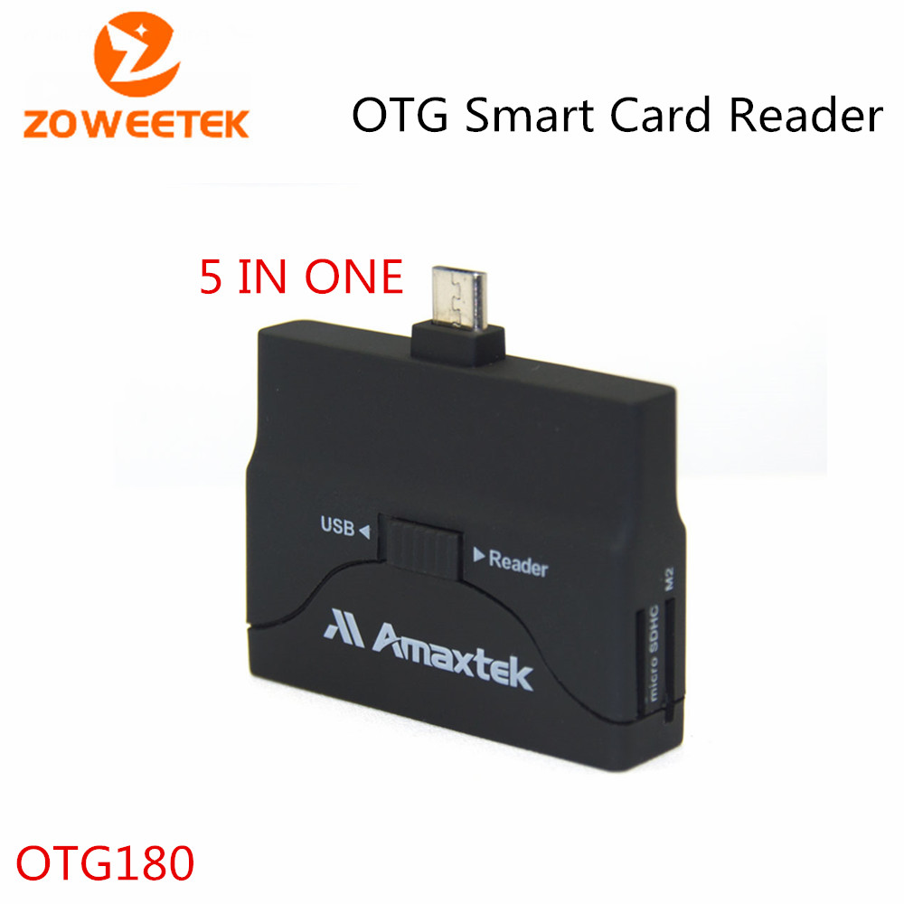 Zoweetek OTG180 Universal Card Reader Mobile Phone PC Card
