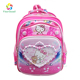 Colorful Hello Kitty Custom Design Pupil Backpack School Bag , Girls Child School Bag
