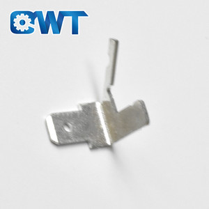 QWT High Precision Brass Stamping tab male pcb terminal block connector