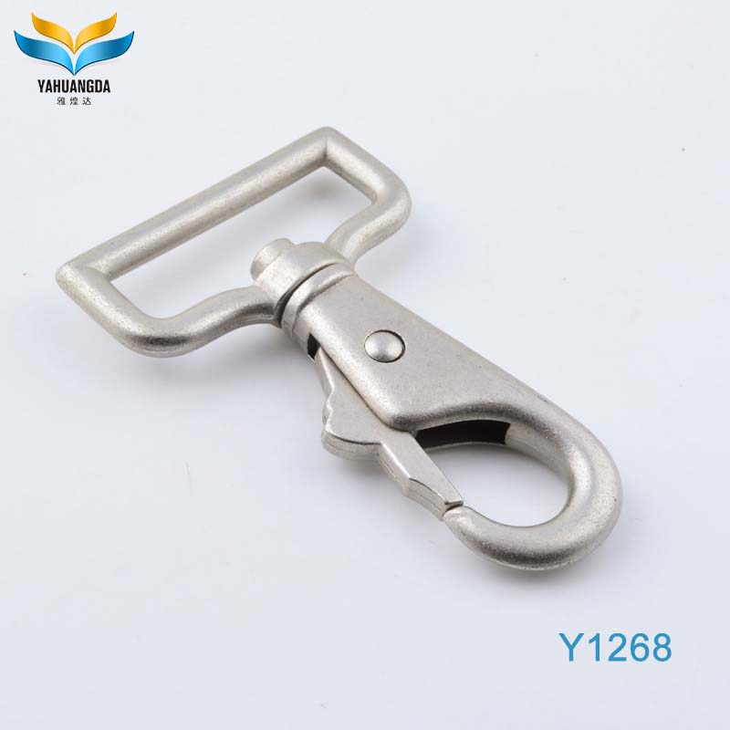 promotion manufacturer for lobster claw key chain metal snap hook