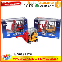 1:24 Scale Forklift Diecast Model,pull back forklift toy