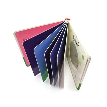 Cheap Custom Hardcover Children Board Book Printing Full Color Grey ...