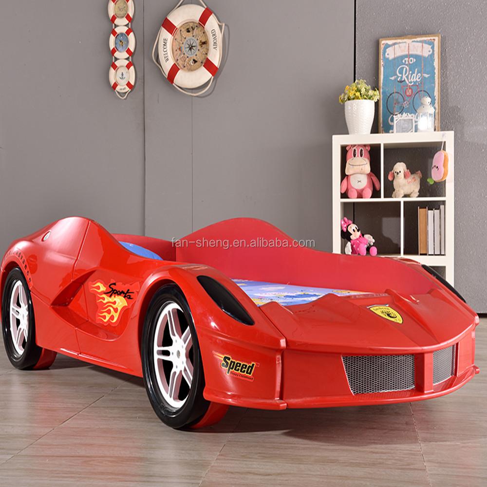 Ferlary Prince Abs Plastic Children Kids Race Car Bed