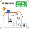 Best price mono solar panel 3kw home power generator free shipping free sample