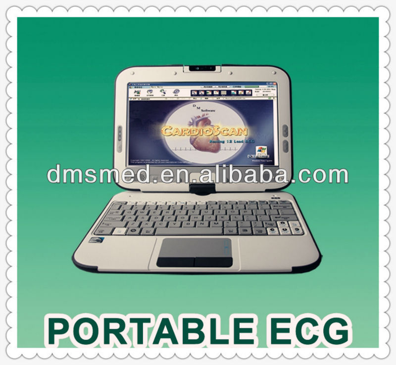 DMS professional portable 12 lead resting ecg