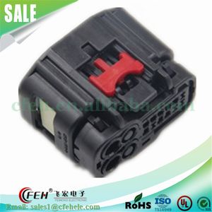 14 pin 7283-9414-30 female PBT connector for auto wire cable