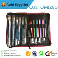 Artist Brushes Set Storage Canvas Case