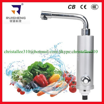 Kitchen Instant Hot Water Tap Electric Water Heater Faucet