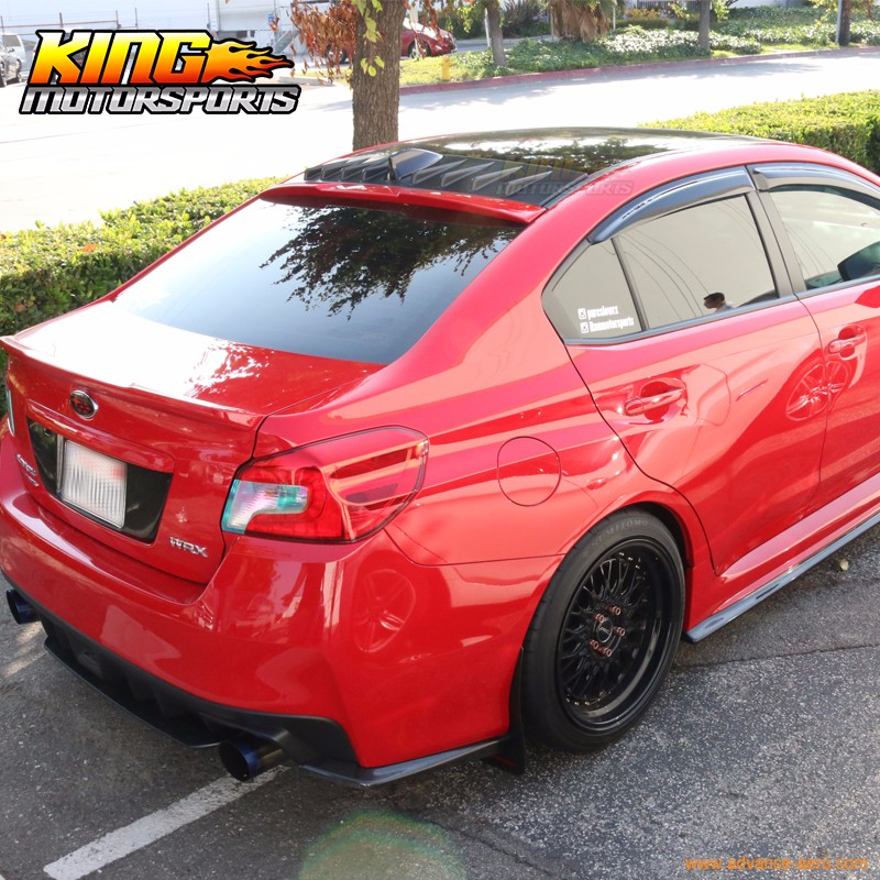 Painted Rear Roof Spoiler Vortex Generator Shark Fin For Wrx Sti Sedan 15 18 Ushirika Coop
