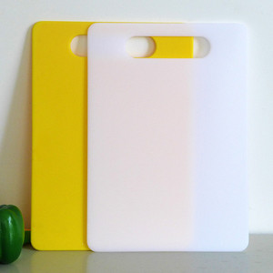 New product high quality plastic flexible cutting board PP material chopping board