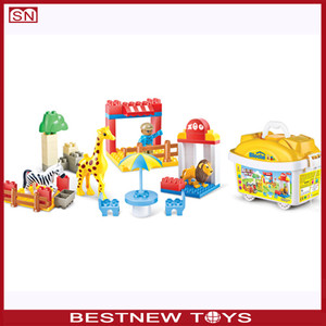 DIY Kids toy Educational toy Hen & Animals 3d Puzzle