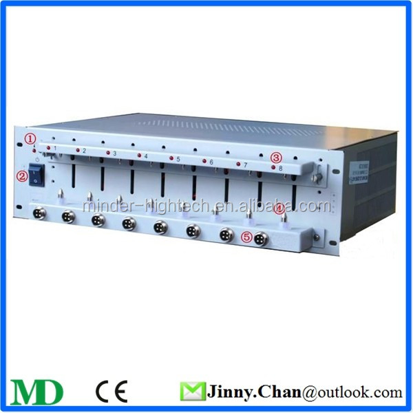 8 Channel Low Power Lithium-Ion Battery Testing System 5V100mA