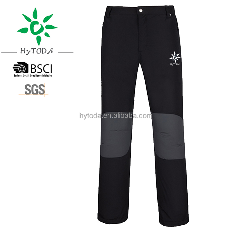 Waterproof Windproof Hiking Softshell Pants Sports Outdoor Trousers