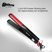 Hottest High Quality Titanium/Ceramic Infrared Flat Iron Straightening Irons Styling Tools Professional Hair Straightener