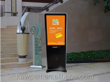 32 inch ODM OEM factory TFT - LCD 450cd m2 touch screen wireless stand Kiosk for mall hotel resturant bank