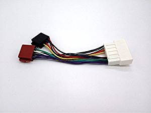 get quotations � autostereo cstereo radio receiver replacement wire harness  cable 12-136 iso standard harness radio adapter