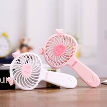 2018 Wholesale new piggy 5v usb portable high speed mini handheld air cooler fan with battery for outdoor