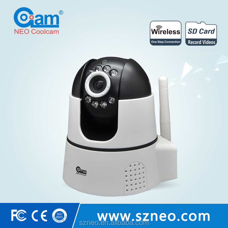 NEO security camera system with 6 devices in total including motion sensor for personal alarm 130db