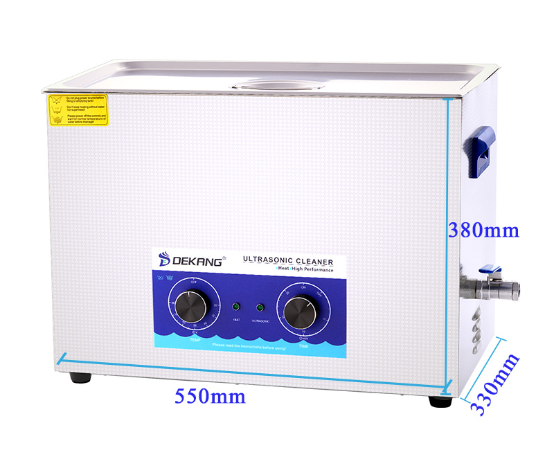 22L Large Engine Carbon Motor Parts Mechanical Cleaning Equipment Ultrasonic Cleaners