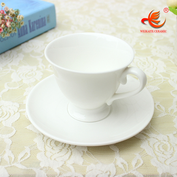 Wkt022w Wedding Plain White Custom Printed Bulk Coffee Tea Cup And