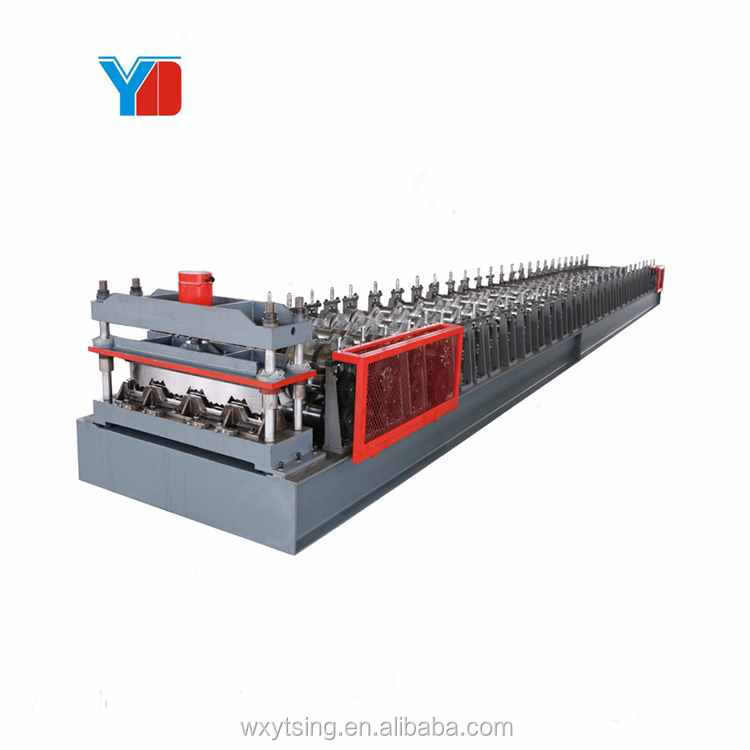Professionele Metalen Vloer Dek Sheet Roll Forming Machine Top Kwaliteit