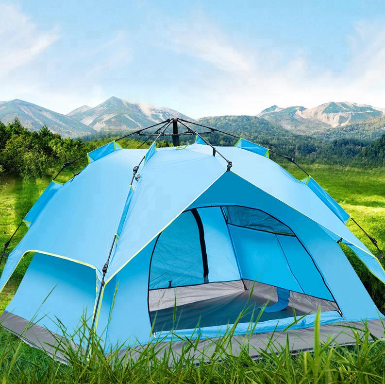 OEM ODM High quality Canvas single man carbonator fiber pop up Carpas tent фото