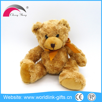 Hot Sale sitting teddy bear plush toy, plush bear