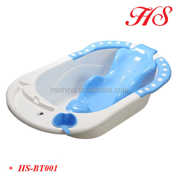Safety Baby Shower Holder Plastic Baby Bath Tub Baby Bath Seat Net ...