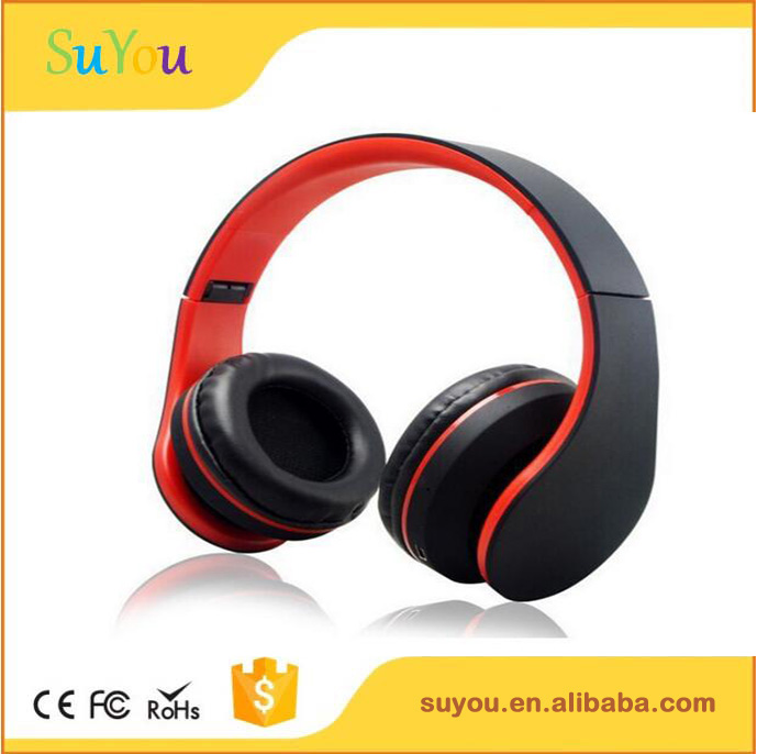 Bluetooth Wireless Headphones Over Ear for Stereo Foldable and Adustable Headband for I-phone TV
