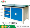 TJG-1204N Taiwan Computer Workbench Cabinet With Rubber Work Bench Top